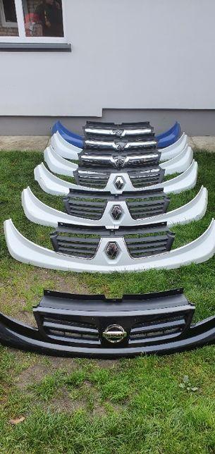 Решетка радиатора (улыбка) Opel Vivaro Renault Trafic Nissan Primastar