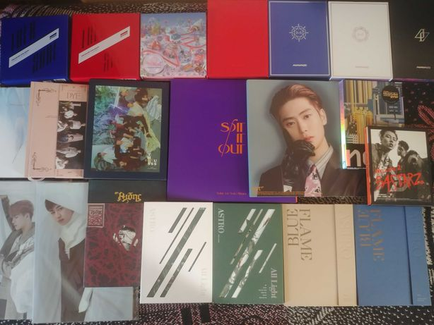 Sprzedam albumy kpop Ateez Mamamoo Got7 NCT etc