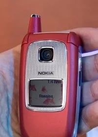 nokia 6103,комплект телефон батарея