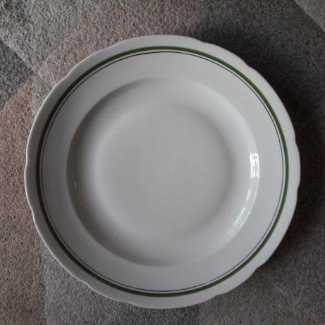 Talerz duży porcelana Ćmielów PRL