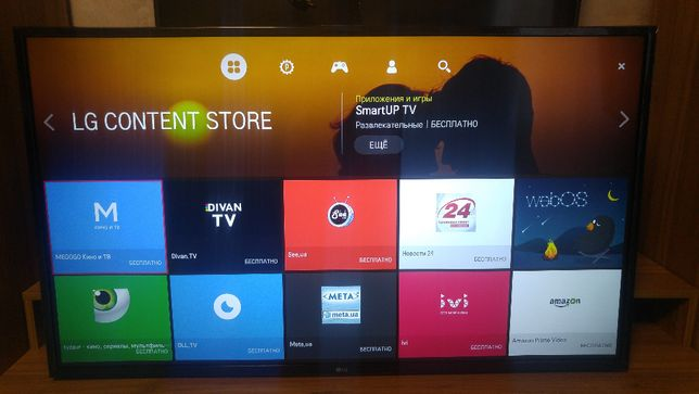 4K телевизор LG 43UH610V