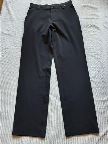 Дизайнерские штаны школьные Clockhouse. Штаны чёрные. Штаны костюмные.