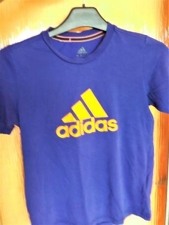 ADIDAS t-shirt koszulka bluzka chłopięca 128 134