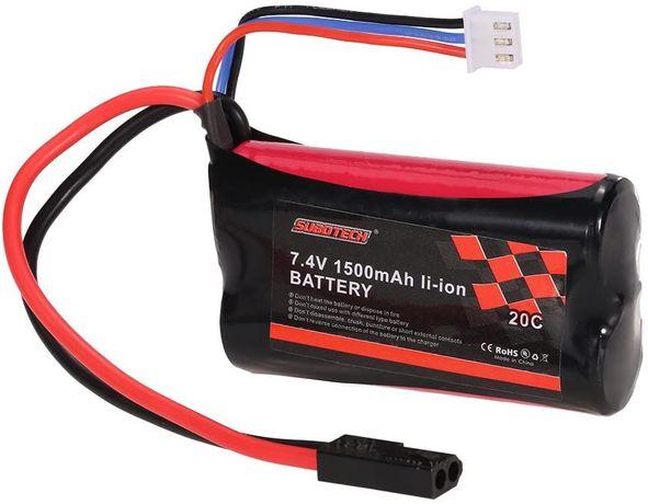 Bateria Li Ion 7,4v 1500 mAh para carro telecomandado