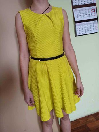 Sukienka żółta XS/34