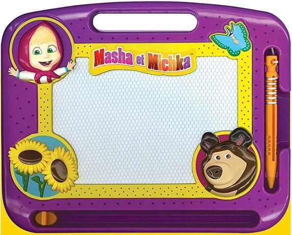 Masha urso canal panda - brinquedo desenhar (novo e selado)