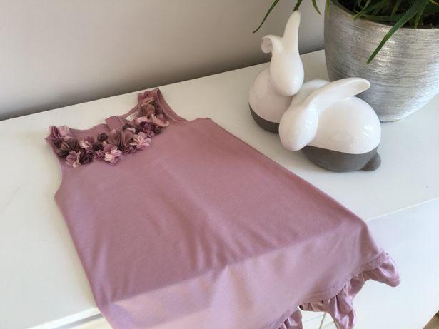 Max studio sukienka w kolorze starego różu 122
