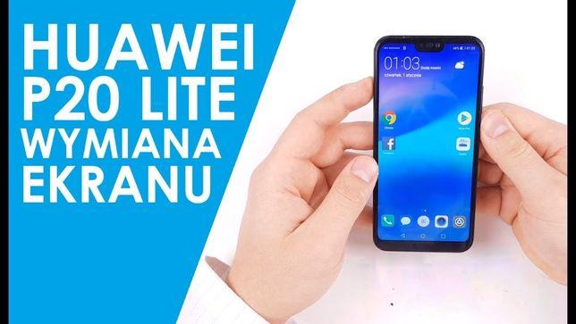 Huawei P10 P20 Mate 20 lite wyświetlacz szybka wymiana w cenie SERWIS