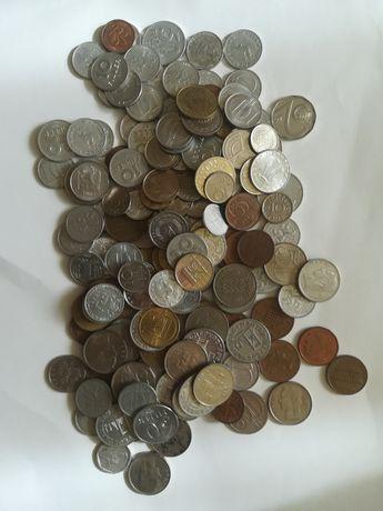 Numizmatyczna kolekcja monet - 177 sztuk