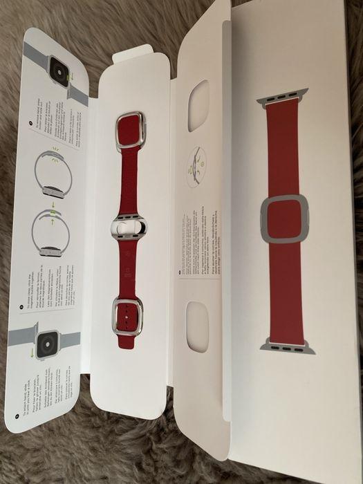 Ремінець до Apple Watch 40mm(38mm) Modern Buckle Red Криховцы - изображение 1