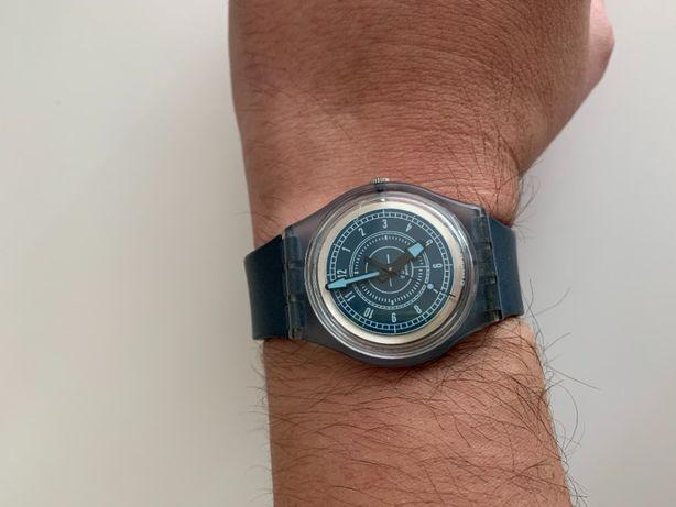 Relógio Swatch Access original azul mate