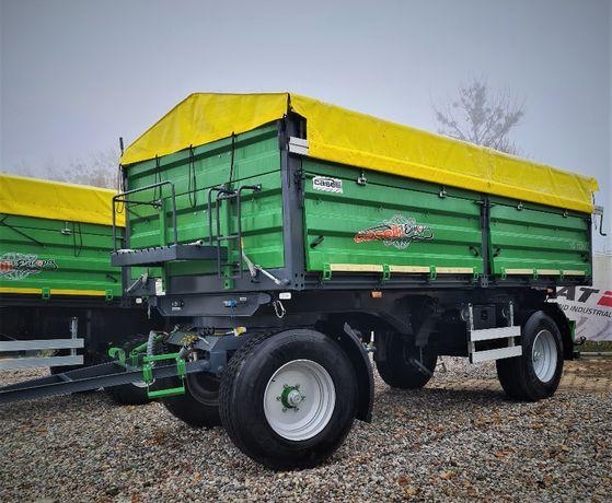 Przyczepa rolnicza 10 Ton fabrycznie nowa Caselli DOUBLE AXLE