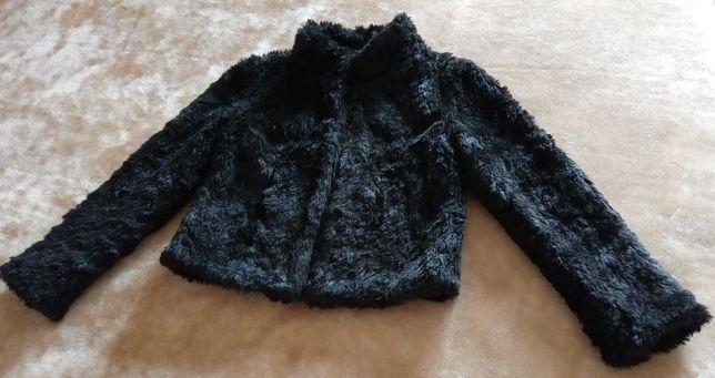 Macacão azul marinho, tamanho S + casaco de pêlo, tamanho S-como novos