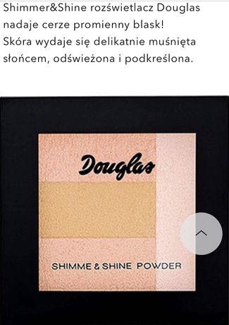 Douglas rozświetlacz shine powder