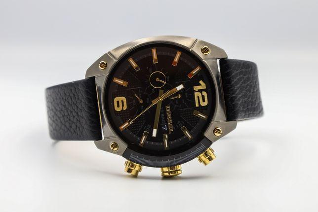 Zegarek Męski DIESEL OVERFLOW DZ4375 49 MM Chronograficzny Skóra