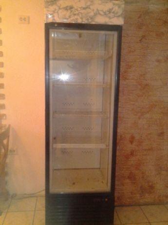 Холодильник витрина для напитков под стеклом б/у