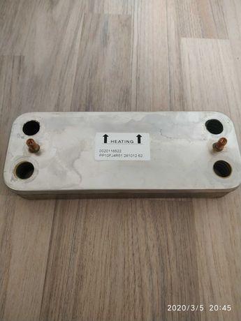 Вторичный теплообменник ГВС для котлов Протерм (Protherm) 10 пластин