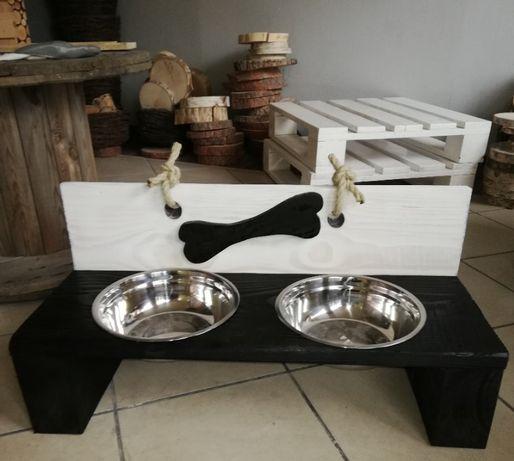 stojak, bufet dla psa