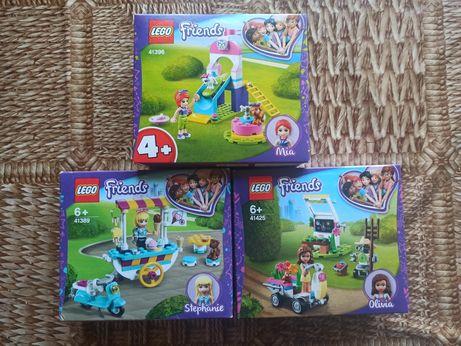 LEGO Friends Цветочный сад(41425)+Игровая площадка (41396)+(41389)