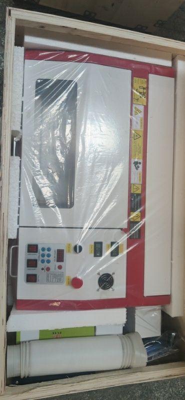 Máquina de corte e gravação a Laser de CO2 50w 300x200mm