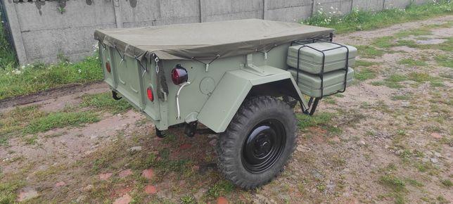 Przyczepa GAZ 704 UAZ 8109 przyczepka do UAZa GAZa