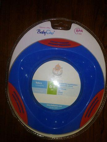 Детская тарелка на присоске BabyOno(БэбиОно)