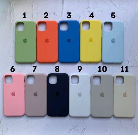 Силиконовый айфон чехол на Iphone 12 pro SE 5 S 8 X PLUS 7 6 + XR MAX