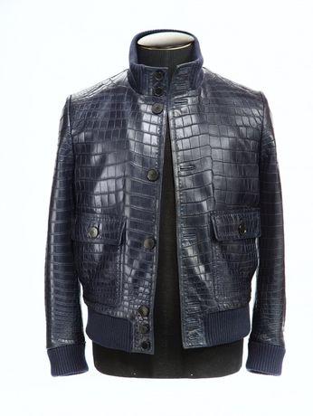 Пошив Куртки из кожи крокодила