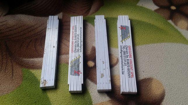 Miarka budowlana drewniana 2m NOWA
