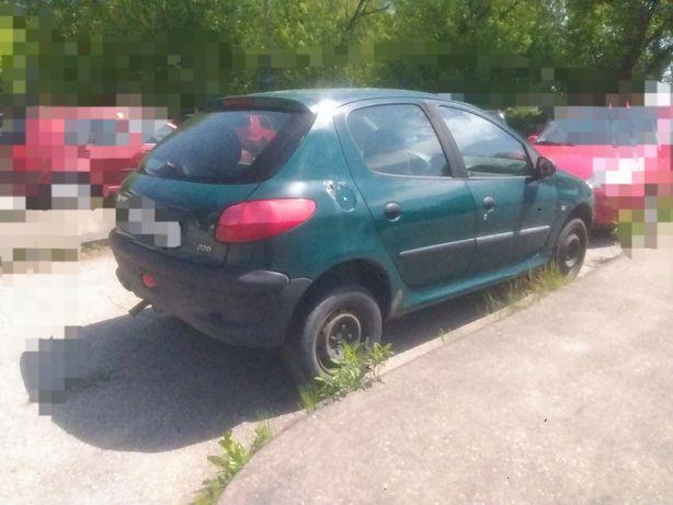 Peugeot 206 auto na części