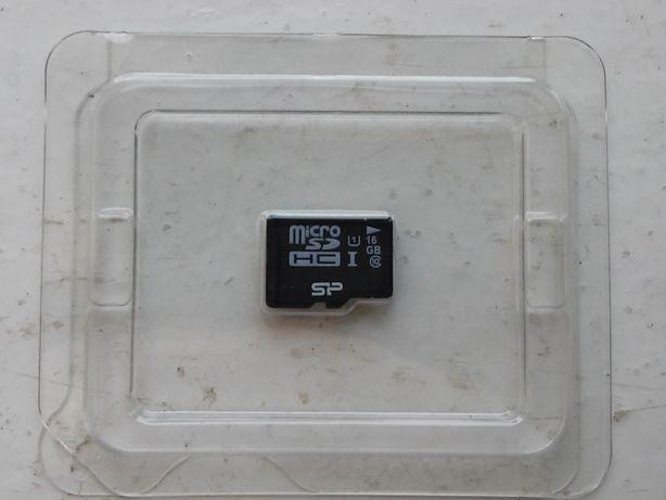 Новая карта памяти микро SD, micro SD 16 Гб