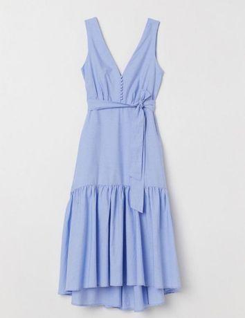 Плаття голубе H&M 36 розмір