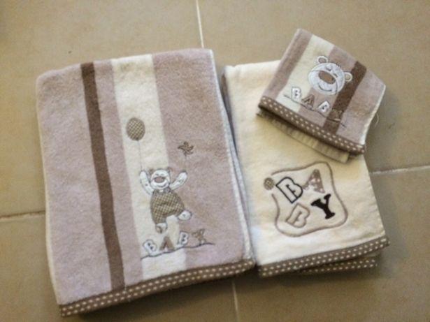 Conjunto toalhas banho