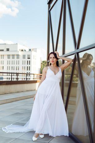 Платье свадебное, вечернее платье, платье в пол, на выпускной
