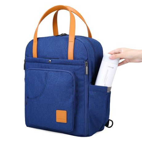 Сумка-рюкзак для мамы Mommore, на коляску, для ноутбука, для прогулок