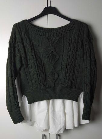 Śliczny Nowy Koszulowy Sweterek !