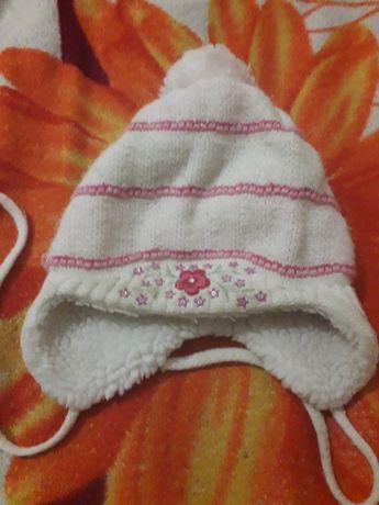 Зимняя шапка от 6 месяцев!