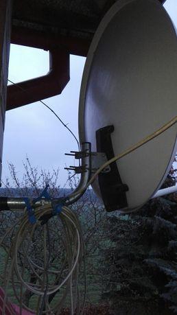 Antena satelitarna pełen zestaw 100 zl