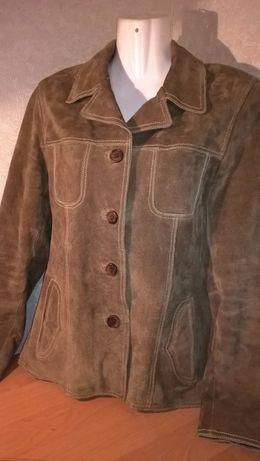Натуральный замшевый пиджак от GIPSY (Германия), р.М