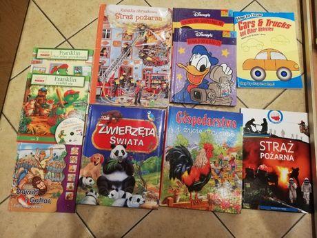 Zestaw, paczka pięknych książek dla dziecka