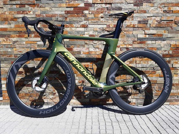 Cannondale SystemSix Disco (+ extensores integrados Vision)