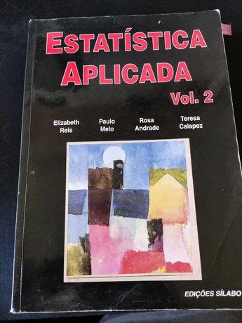 Livro Estatística Aplicada - Vol. 2