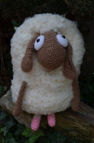 Большая подушка-овца из мультфильма Барашек Шон