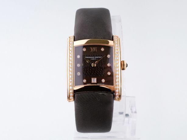 Женские бу часы Frederique Constant Delight Diamonds 35 x 28 мм