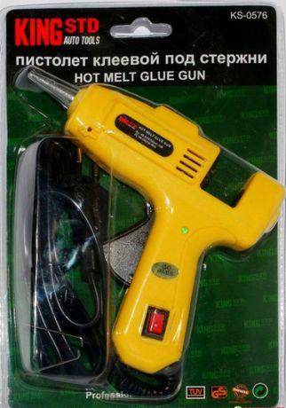 Клей-пистолет 20Вт King STD KS-0576
