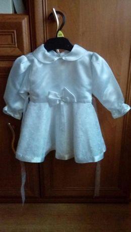 Sukienka do chrztu rozm.74