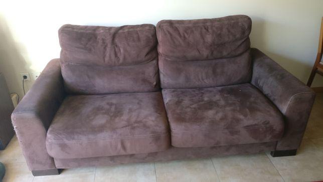 Vende-se sofá castanho