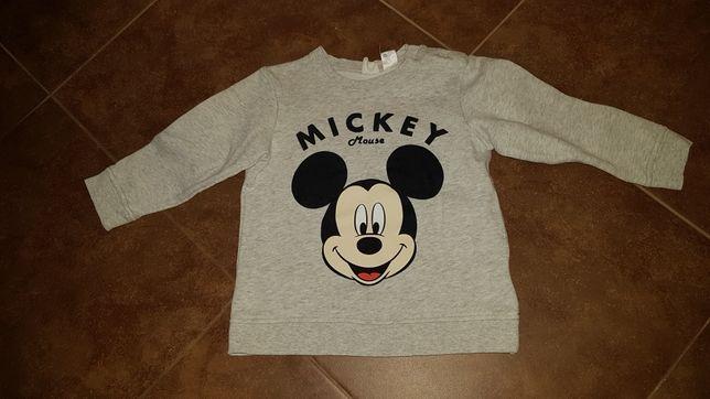 Bluza hm Myszka Miki Mickey 98