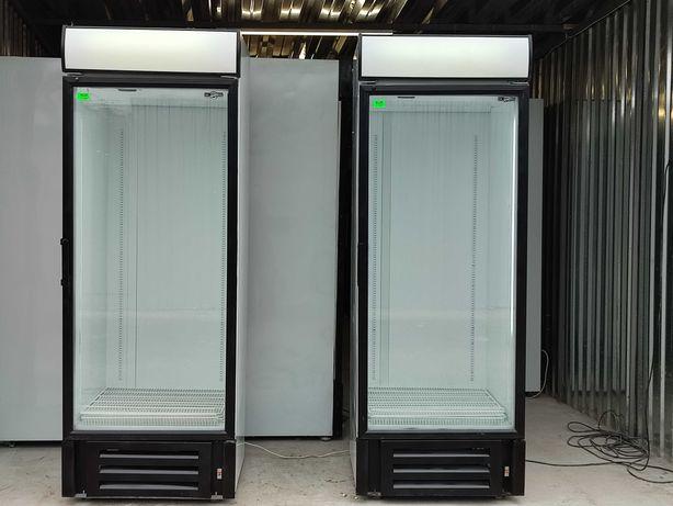 Холодильная витрина шкаф широкий холодильник Интер 750 Inter 710 л