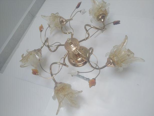 Люстра світильник на 5 лампочок
